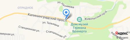 Торговая сеть по продаже хлебобулочных изделий на карте Светлогорска