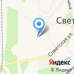 Всероссийское общество инвалидов на карте Светлого