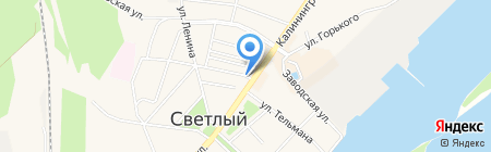 Домашний социальный магазин на карте Светлого