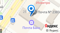 Компания Почта Банк на карте