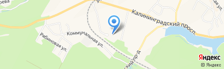 Адвокат Мещеряков Н.Е. на карте Светлогорска