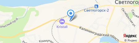 Банкомат Банк ВТБ 24 на карте Светлогорска