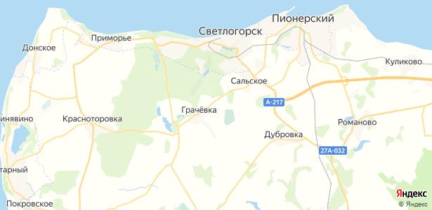 Богатое на карте