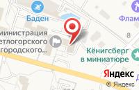 Схема проезда до компании Янпо в Светлогорске