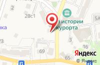 Схема проезда до компании Мегастрой в Светлогорске