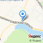 Пожарно-спасательная часть №17 Светлогорского городского округа на карте Светлогорска