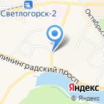 Мышеловка на карте Светлогорска