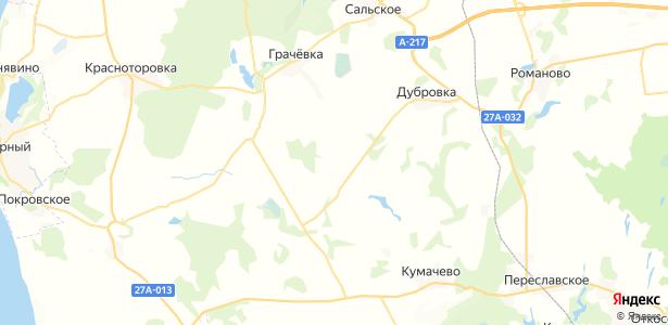 Ольховое на карте