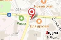 Схема проезда до компании Пресса в Светлогорске
