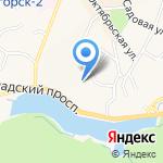 Светлогорская центральная районная поликлиника на карте Светлогорска