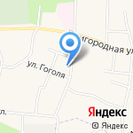Людмила на карте Светлогорска