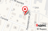 Схема проезда до компании Людмила в Светлогорске
