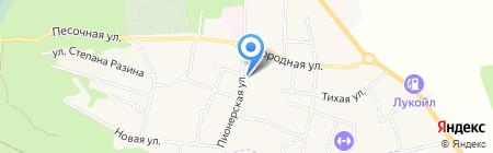 Мясная лавка на Пионерской на карте Светлогорска