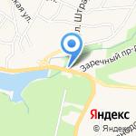 Межмуниципальный отдел вневедомственной охраны по Светлогорскому району на карте Светлогорска