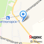 Ремонтная компания на карте Светлогорска