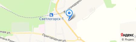 Ювелирная мастерская на карте Светлогорска