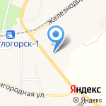 Адвокатский кабинет Шиянова А.Н. на карте Светлогорска
