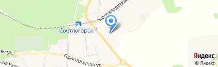 ВДС на карте Светлогорска