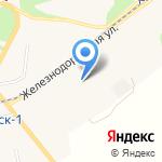 Тепло-Авангард на карте Светлогорска