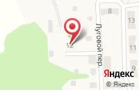 Схема проезда до компании ЧОО Гарантия безопасности в Светлогорске