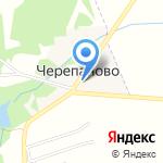 Вергун на карте Черепаново