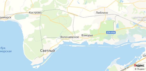 Ижевское на карте