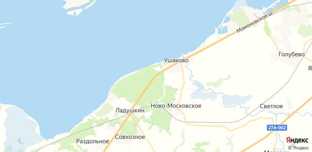 Ульяновка на карте