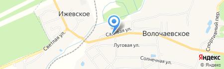 Магазин одежды на карте Ижевского