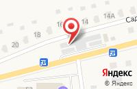 Схема проезда до компании Мастерская по изготовлению памятников в Ижевском