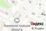 Схема проезда до компании Хозяйственный магазин в Пионерском
