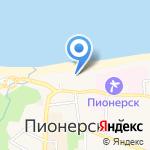 СТК-Балт на карте Пионерского