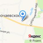 Спортивная на карте Калининграда