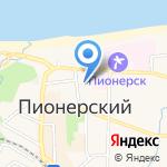 Крош.ка на карте Пионерского