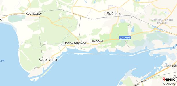 Волочаевское на карте