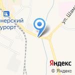 Магазин автозапчастей на карте Пионерского