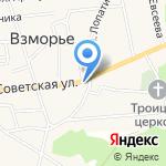 Почтовое отделение на карте Калининграда