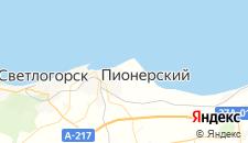 Отели города Заостровье на карте