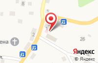 Схема проезда до компании Почтовое отделение в Романово
