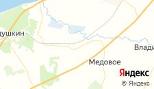 Гостиницы города Мушкино на карте