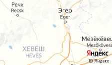 Отели города Эгерсалок на карте