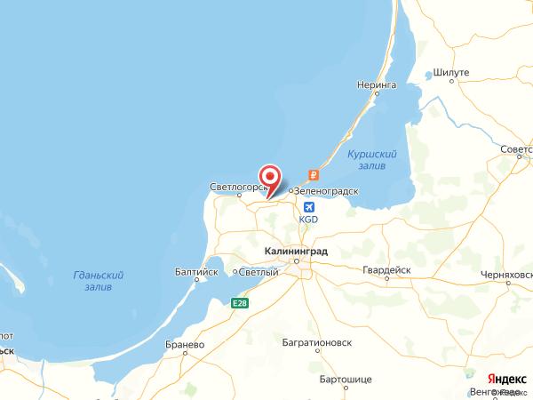 поселок Куликово на карте