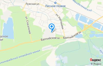 Местоположение на карте пункта техосмотра по адресу г Калининград, ул Алтайская 1-я, д 29