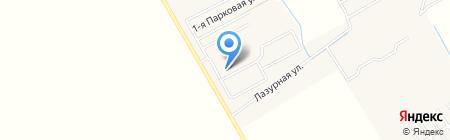 Новое Голубево на карте Голубево