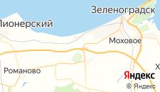 Гостиницы города Сокольники на карте