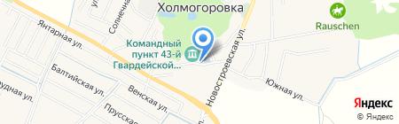 Холмогоровский фельдшерско-акушерский пункт на карте Холмогоровки