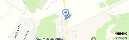 Продуктовый магазин на карте Холмогоровки