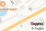 Схема проезда до компании Радуга в Шоссейном