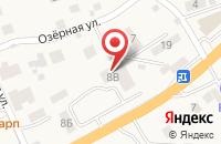 Схема проезда до компании Оазис в Шоссейном