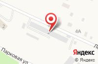 Схема проезда до компании БУР-ВОД в Шоссейном