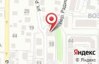 Схема проезда до компании Цифровые Системы в Калининграде
